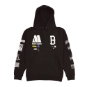 [LIMITED EDTION]BLACK SCALE All-American Motown Pullover Hoody