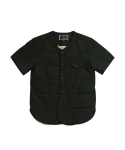 어레인지(ARRANGE) Short Sleeve Padding Jacket (Black)