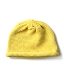 모스그린(MOSSGREEN) Knit Roll Beanie - Golden Bell
