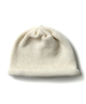 Knit Roll Beanie - Ivory