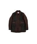 스웰맙(SWELLMOB) Swellmob wool hunting coat -brown/olv-