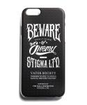 PHONE CASE BEWARE BLACK iPHONE6/6+/5S