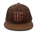 브래그(BRAGG) Bragg Check-pattern New Snapback