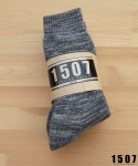 "1507 WORKSOCKS ""STRONG GREY"" 3PAIR. *묶음판매"