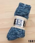 "1507 WORKSOCKS ""DEEP BLUE"" 3PAIR. *묶음판매"