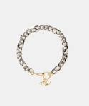 먼데이에디션(MONDAY EDITION) [usual M.E] Chain bracelet A (2 colors)