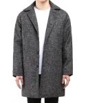 Tweed Napping Oversize Coat