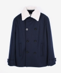 PEA COAT_solid nv