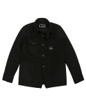 Heavy Wool Railroad Chore Jacket (Black)