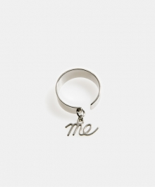 [usual M.E] Me pendant simple ring (2 colors)