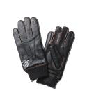 Robin Goatskin A-10 Gloves Dark Brown