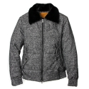 언티지() UTO 705 untage wool bomber jacket_black(남여공용)
