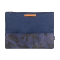 스티디(STIDIE) QUARTER CLUTCH-NAVY CAMO