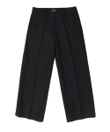 모한(MOHAN) [MOHAN]CROP WOOL PANTS BLACK 모한