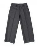 모한(MOHAN) [MOHAN]CROP WOOL PANTS GRAY 모한