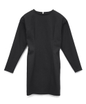 모한(MOHAN) [MOHAN]VOLUME DART DRESS BLACK 모한