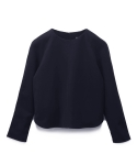 모한(MOHAN) [MOHAN]WOOL RAGLAN TOP NAVY 모한