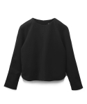 [MOHAN]WOOL RAGLAN TOP BLACK 모한