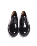Commando Sole Lace-up Shoes (Black)