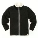 [유니어패럴] UNIAPPAREL 베이직 양털 스웨트 자켓 (차콜)