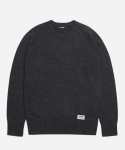 LAMBSWOOL BASIC KNIT [CHARCOAL GREY]