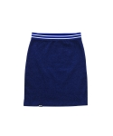 루스리스(RUTHLESS) FITTED SKIRT WITH BAND / HB
