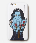 무신사(MUSINSA) [MUSINSA+YONG OH KIM]iPhone6 Case_Old school tattoo girl_White