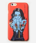 무신사(MUSINSA) [MUSINSA+YONG OH KIM]iPhone6 Case_Old school tattoo girl_Red