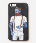 [MUSINSA+YONG OH KIM]iPhone5/5s Case_Old school tattoo man_Black
