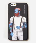 [MUSINSA+YONG OH KIM]iPhone6 Case_Old school tattoo man_Black
