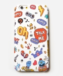 무신사(MUSINSA) [MUSINSA+YONG OH KIM]iPhone6 Case_Talk to me_White