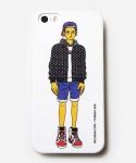 [MUSINSA+YONG OH KIM]iPhone5/5s Case_Street cap boy_White