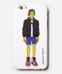 [MUSINSA+YONG OH KIM]iPhone6 Case_Street cap boy_White
