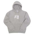 프룻오브더룸(FRUIT OF THE LOOM) SUPER COTTON PULLOVER SWEATSHIRT NY (GREY)