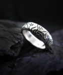 ORCHID BLOOM STERLINGSILVER RING