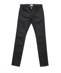 업스케일(UPSCALE) DRY RESIN COATED BLACK DENIM 15.5BAS
