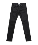 업스케일(UPSCALE) DRY RESIN COATED BLACK DENIM 16.5BAS