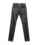 업스케일(UPSCALE) LUSTER HARD COATED BLACK DENIM 15.5BAS