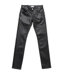 업스케일(UPSCALE) LUSTER HARD COATED BLACK DENIM 16.5BAS