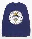 Greedy Wolf Sweatshirt - Navy