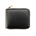 [VERMILAN] 지퍼반지갑 Zip Around Wallet - black