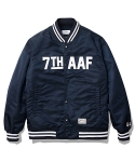 Joe 7th AAF Baseball Jacket Navy