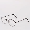 옵틱스뮤지엄(OPTICS MUSEUM) TONY CLASSIC GLASSES (BLACK)
