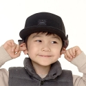 플래토() MUFFLE CAP_BLACK_KIDS