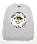 Greedy Wolf Sweatshirt - Grey