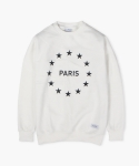 MIDNIGHT IN PARIS SWEATSHIRT (WHITE)