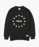 MIDNIGHT IN PARIS SWEATSHIRT (BLACK)