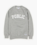 PUBLIC SWEATSHIRT (GREY)