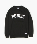 PUBLIC SWEATSHIRT (BLACK)