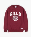폴리그램(POLYGRAM) GOLDEN DAYS SWEATSHIRT (BURGUNDY)